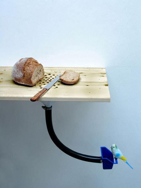 bird dispenser by Curro Claret