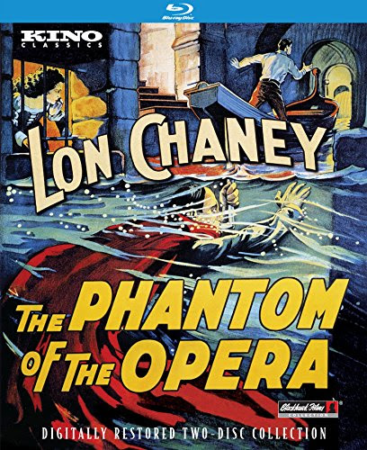 The Phantom of the Opera with Lon Chaney Blu-ray & DVD Oct 13