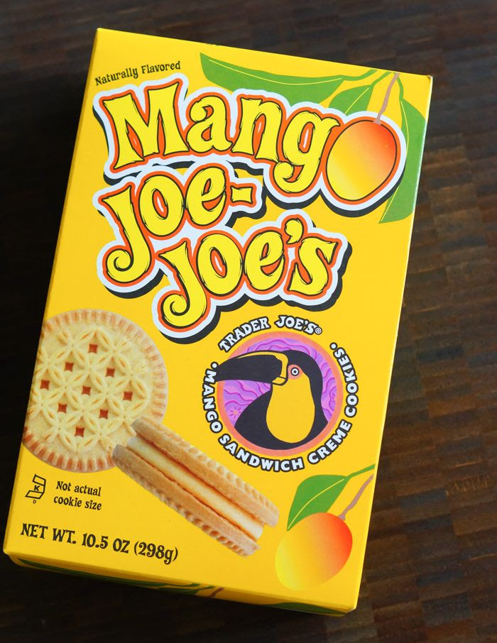 trader joe's mango joe joe's review : part of a weekly review series of tj's desserts and treats