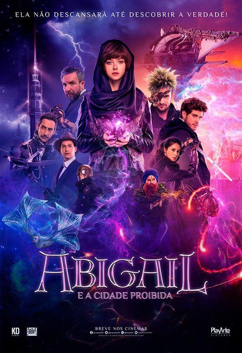 Abigail e a Cidade Proibida : Poster