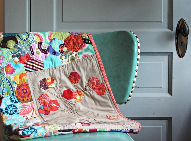 a gifted quilt -- so amazing!!