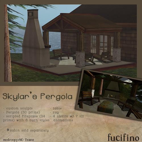 fucifino.Skylar's Pergola for the Designer's Challenge