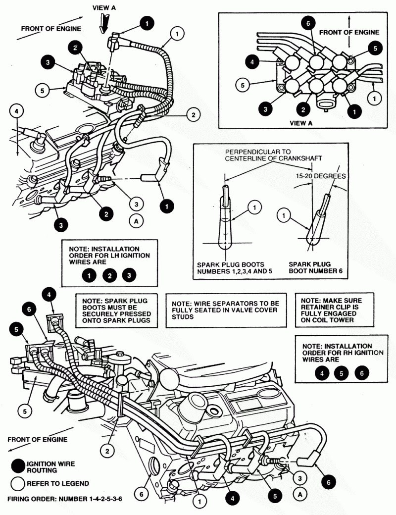 Unique 1997 ford F150 4.6 Spark Plug Wiring Diagram ...