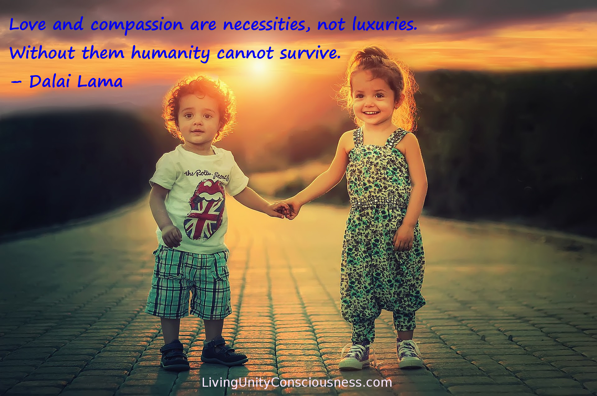 Love And Compassion Are Necessities Living Unity Consciousness