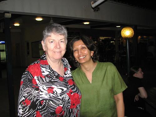 Pat Whalen and Jayshree Mamtora
