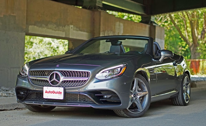 2017 Mercedes Benz Slc 300 Roadster Review Autoguide Com