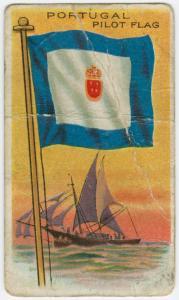 Portugal Pilot Flag. Digital ID: 1574657. New York Public Library