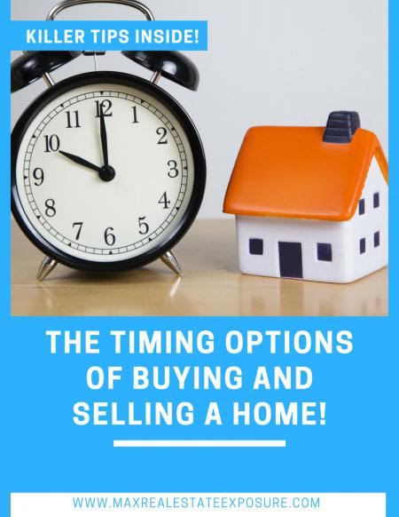 The Timing Options of Buying and Selling a Home