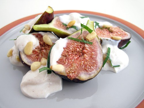 figs with honeyed yogurt