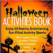 Halloween Activities Book: Enjoy 50 Festive, Entertaining, Fun-Filled Activity Sheets: Danny Pettry II: 9781492865773: Amazon.com: Books