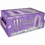 Monster Drink, Ultra Violet, Sugar Free, 16 oz. cans, 24 ct.