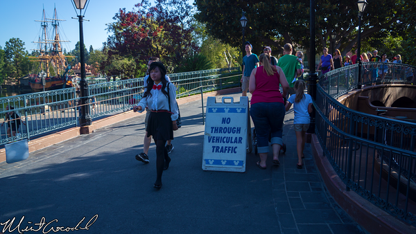 Disneyland Resort, Disneyland, New Orleans Square, Traffic, Sign