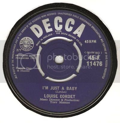 Louise Cordet - I'm Just A Baby