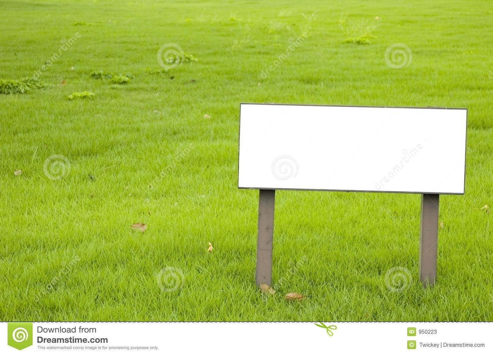 Blank Sign Stock Photos - Image: 950223