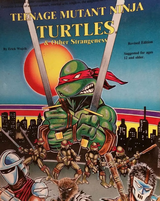 TMNT RPG | Teenage Mutant Ninja Turtles & Other Strangeness | RPGKnights