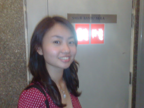 Grace, before going to the top of KL Tower