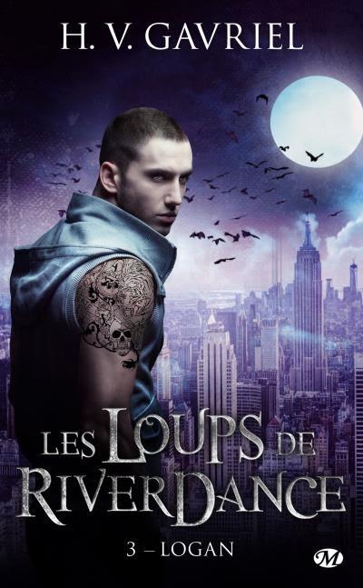 Couverture Les Loups de Riverdance, tome 3 : Logan