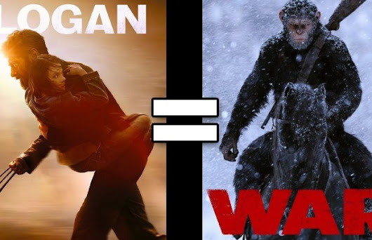 24 Reasons LOGAN and WAR FOR THE PLANET OF THE APES Are The Same Movie | FizX