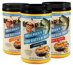 Uncle Buck's Fish Batter Mix