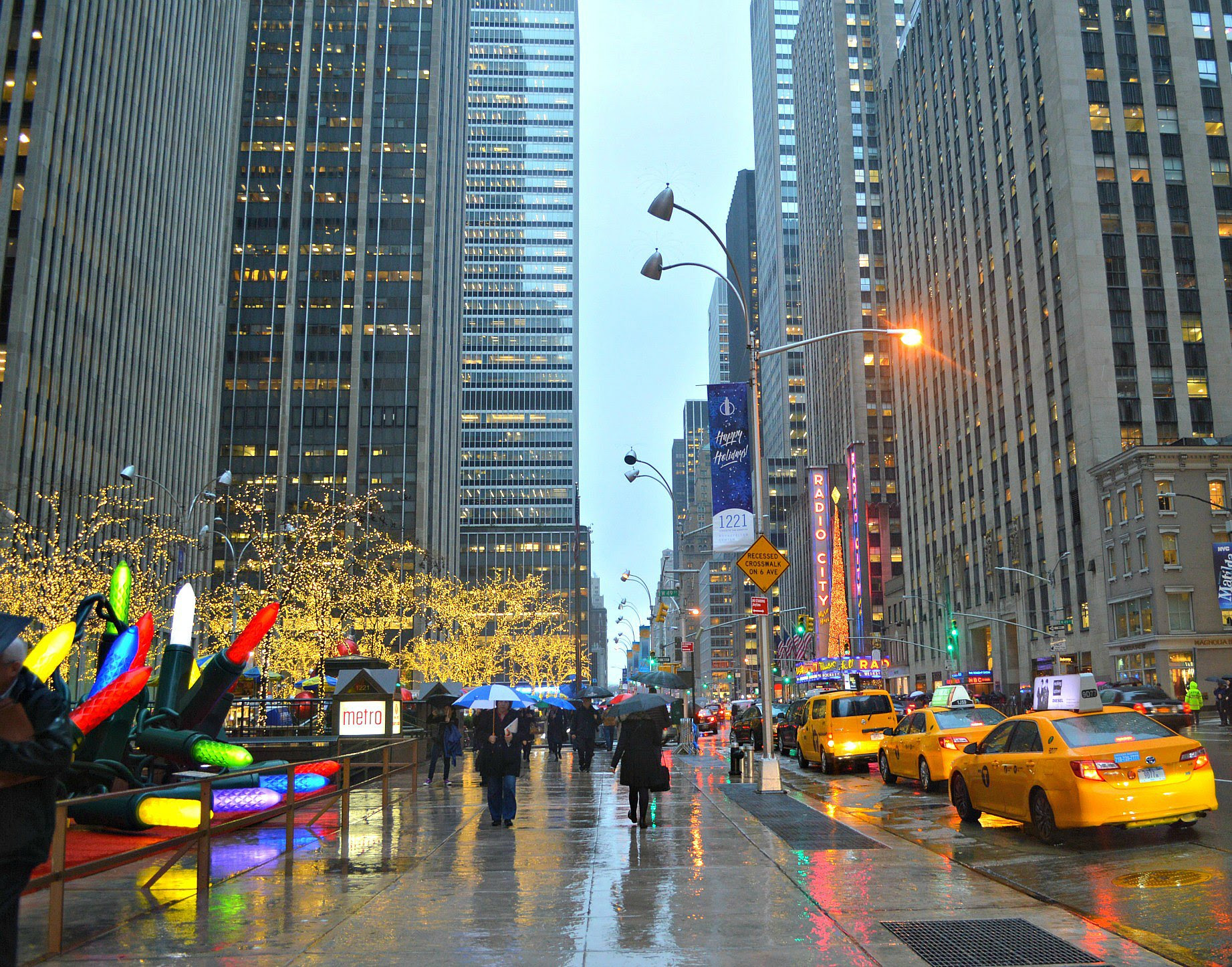 My First Christmas In New York City One Girl One World