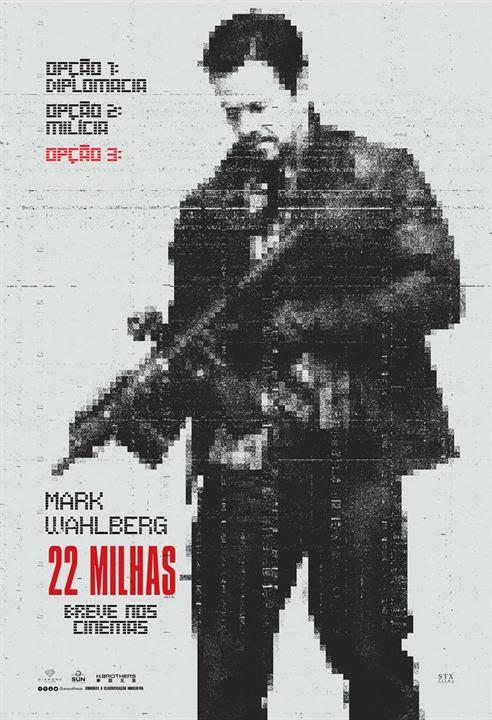 22 Milhas : Poster