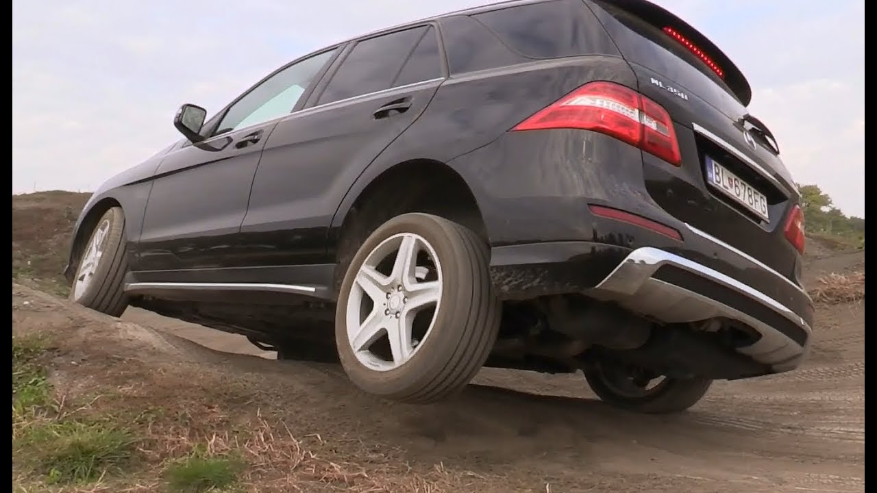 Mercedes-Benz ML - Off road test - YouTube