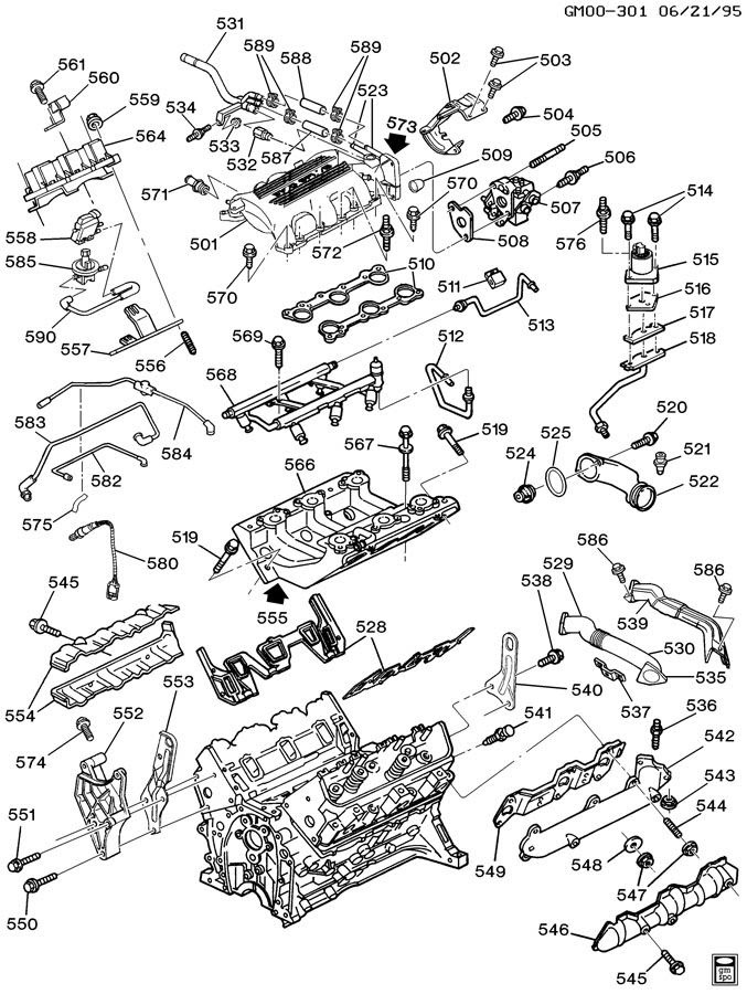 Gm 3100 Sfi Engine Diagram