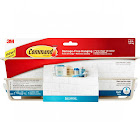 Command Satin Nickel Shower Caddy (1-Shower Caddy) (4-Adhesive Strips)