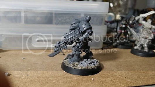 Imperial Space Marine 001