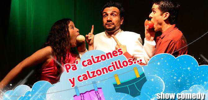 Artescénicas presentan Pa Calzones y Calzoncillos este fin de semana