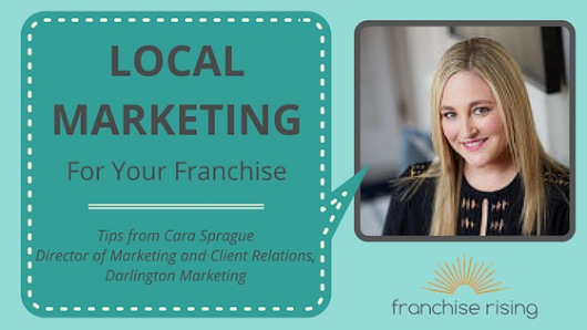 How Does Local Marketing Work for Franchisees?