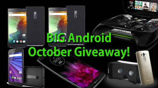 BIG Android October Giveaway!