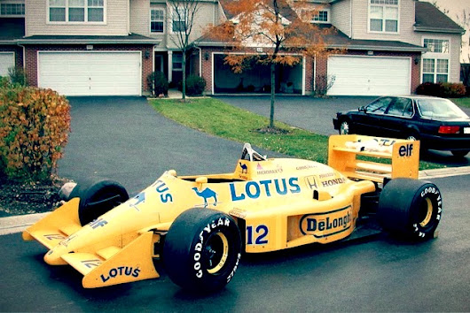 F1 Car for Sale – 1987 Lotus 99T/5 ex Ayrton Senna - Retro Race Cars