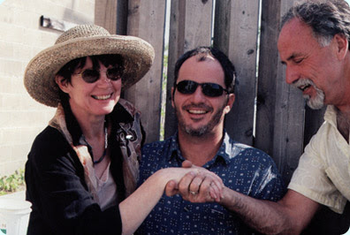 Cape May Stage Founder Michael Laird with Artistic Board Member Angel Hissom and Eric Hissom, 1987