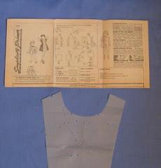 vintage childs pattern instr