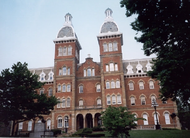 Washington, PA : Old Main Building, Washington & Jefferson ...