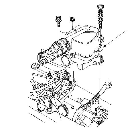 Intake Manifold Removal And Installation Honda Cr V 2002 2003 2004 2005