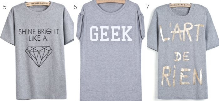 camiseta gris mensaje