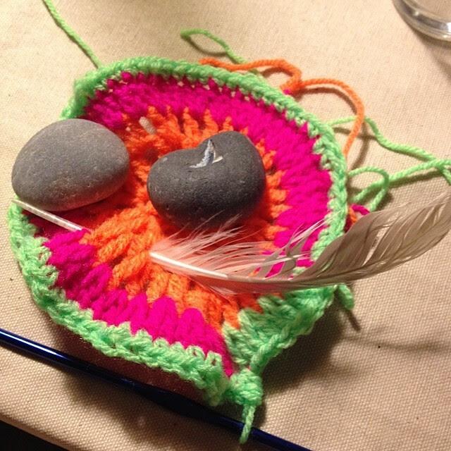 intuitive crochet #ithinkitsdone #drinkandcrochet #thelaphroaigwasabadidea