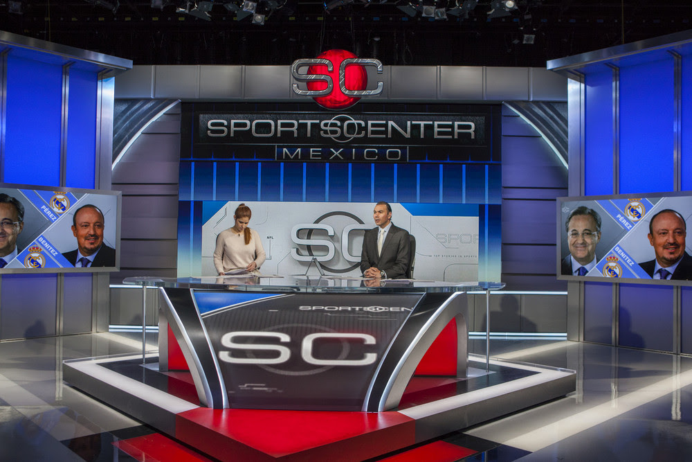 Espn Deportes Unveils Its Own State Of The Art Production Facility In Mexico City