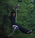 夜のジップライン走行★SLA.500 100フィート ジップラインアドベンチャーキット ナイトライダー Slackers社【並行輸入】