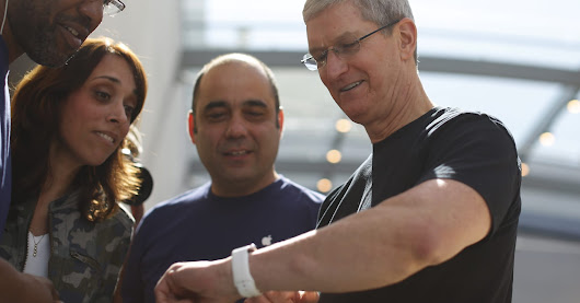 Apple CEO Tim Cook test-drove glucose monitor