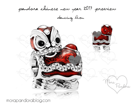Pandora Chinese New Year 2017 Charm Preview | Mora Pandora