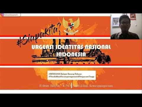 Urgensi Identitas Nasional Indonesia