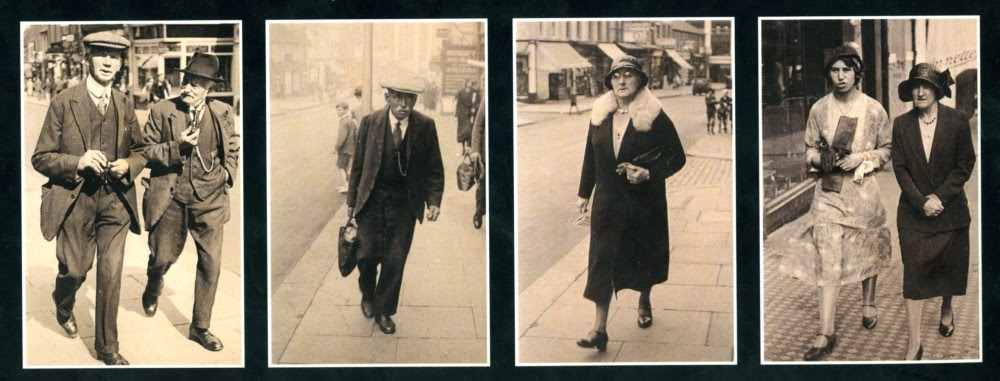 Shoppers in Sutton High Street, c. 1930 by Anonymous