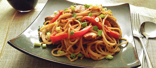 Peanut Pork with Peppers