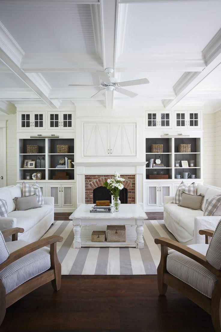 White family room    Muskoka Living