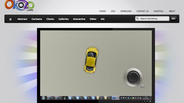 كثيراً مايرغب المستخدم بإضافة بعض العناصر التفاعلية على سطح المكتب في ويندوز