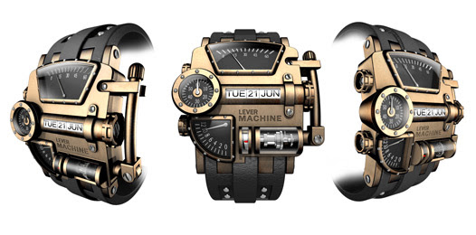 Image: Steampunk Concept Watch Design 2017 Jacques Fournier