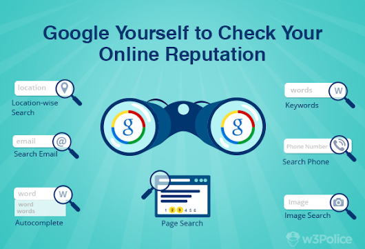 How to Google your Online Reputation? Search Tips for Brands & Individuals - W3Police Blog